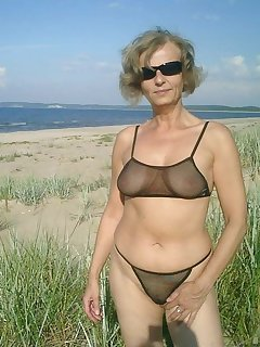 Beach pics granny ☀ Purenudism